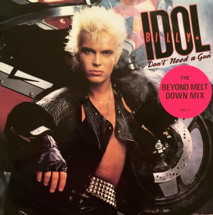 "Billy Idol - Don't Need A Gun (12"") (G/VG+)"